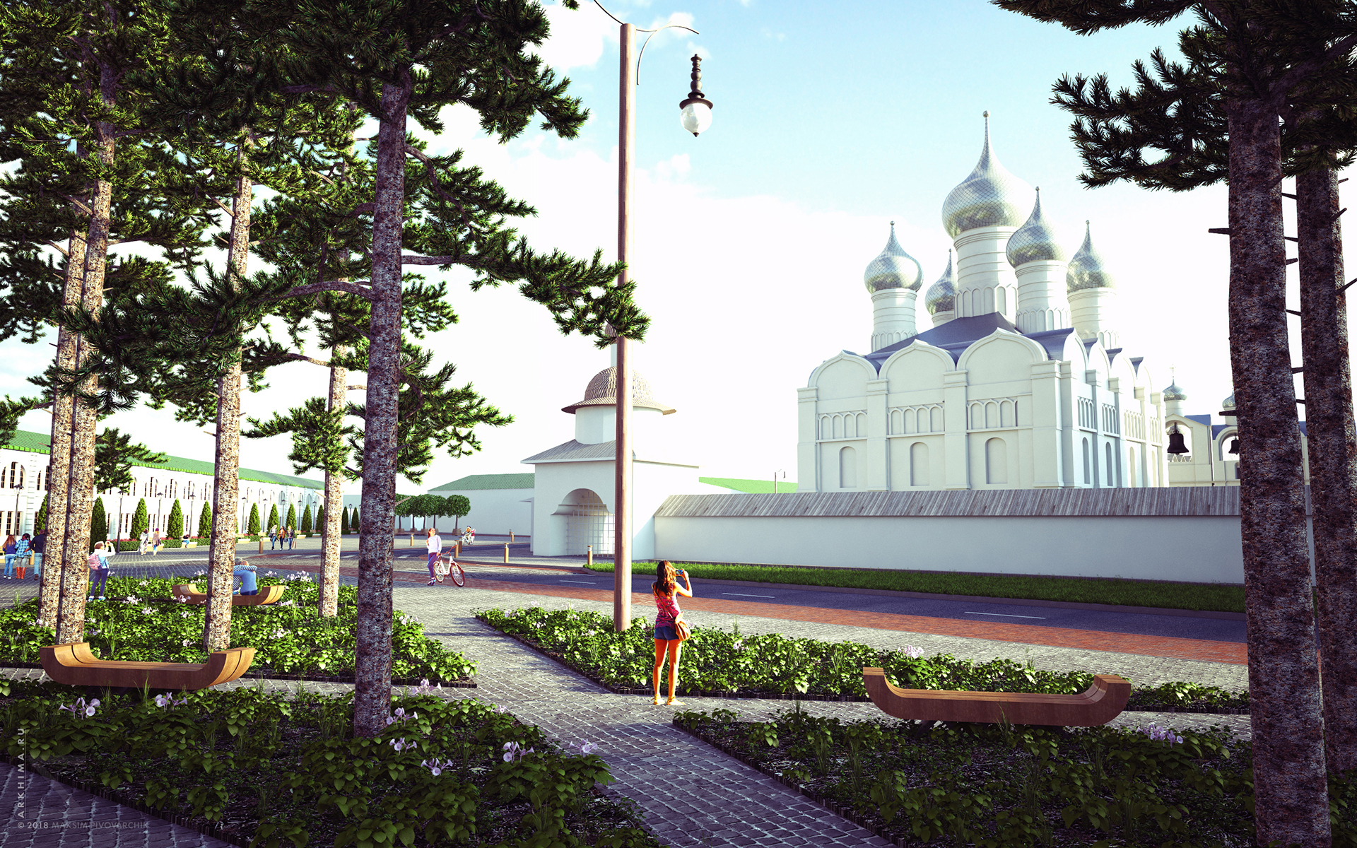 Комплексное благоустройство исторического центра города Ростов Великий
