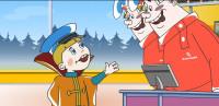 Анимационная реклама автосервиса
