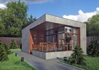 Небольшой загородный дом для летнего использования
