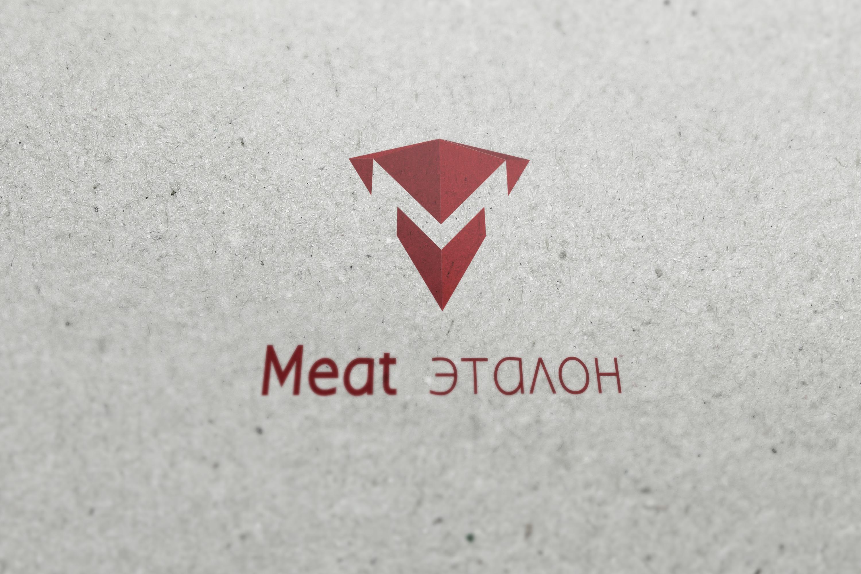 Логотип компании «Meat эталон» фото f_68856fe93783ef62.jpg