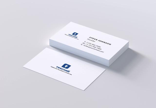 Разработка логотипа и фирм. стиля компании  ТЕХСНАБ фото f_6115b1ed34004c0b.jpg