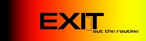 """Логотип компании """"Exit"""""""