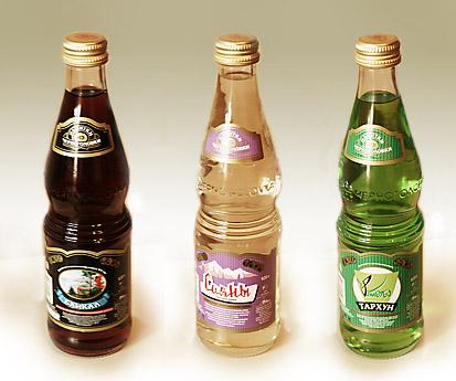 Безалкогольные сладкие газированные напитки на натуральном сырье с...