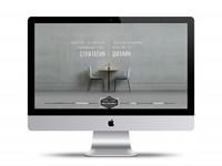 Сайт визитка с уникальным дизайном