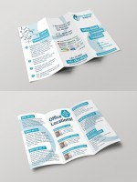 Буклет для медицинской клиники