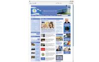 Дизайн сайта и верстка для шаблона Joomla для Федерации профсоюзов Украины