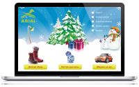 Дизайн и верстка сайта детской обуви, настольных игр и игрушек