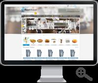 RestVision - интернет магазин оборудования для ресторанов