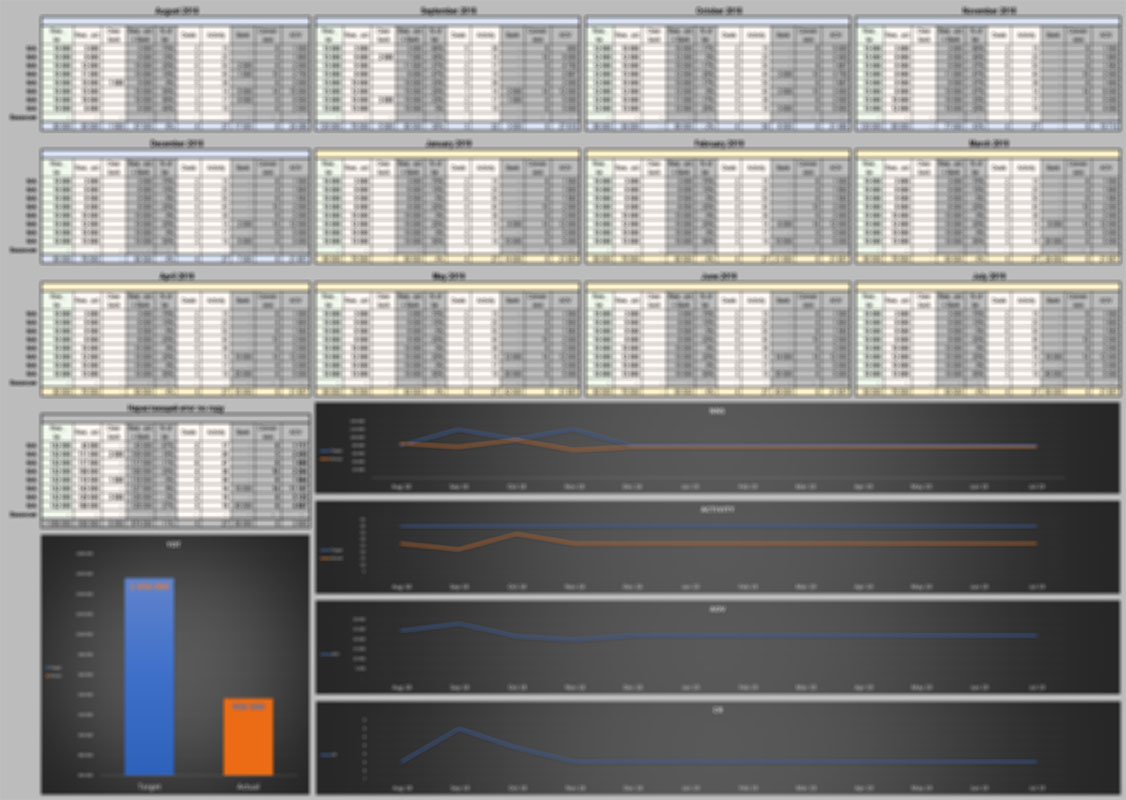 Автоматизация рабочего листа MS Excel