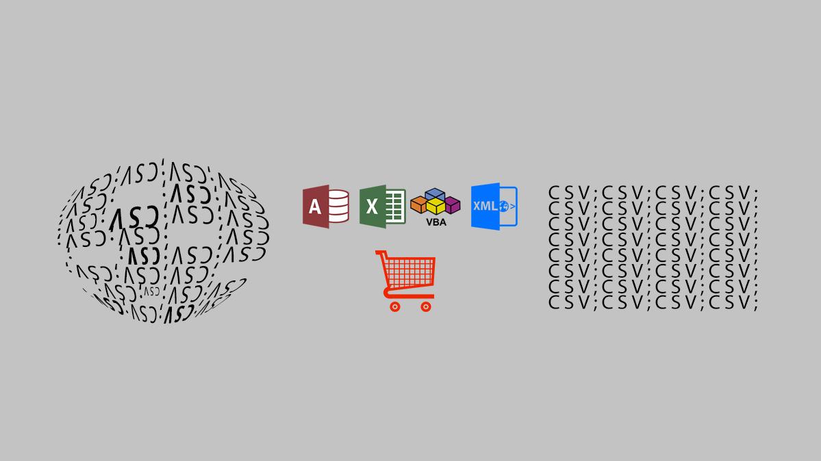 Компиляция файлов ассортимента для онлайн-магазинов