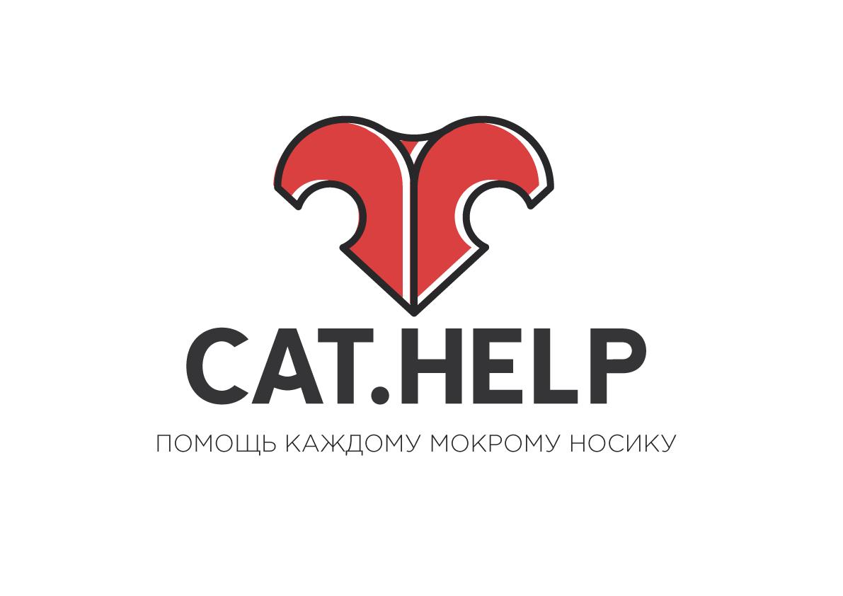 логотип для сайта и группы вк - cat.help фото f_19359dd180e3f419.png