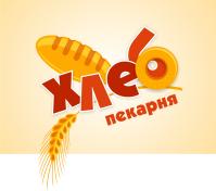 """""""Хлебопекарня"""" лого"""