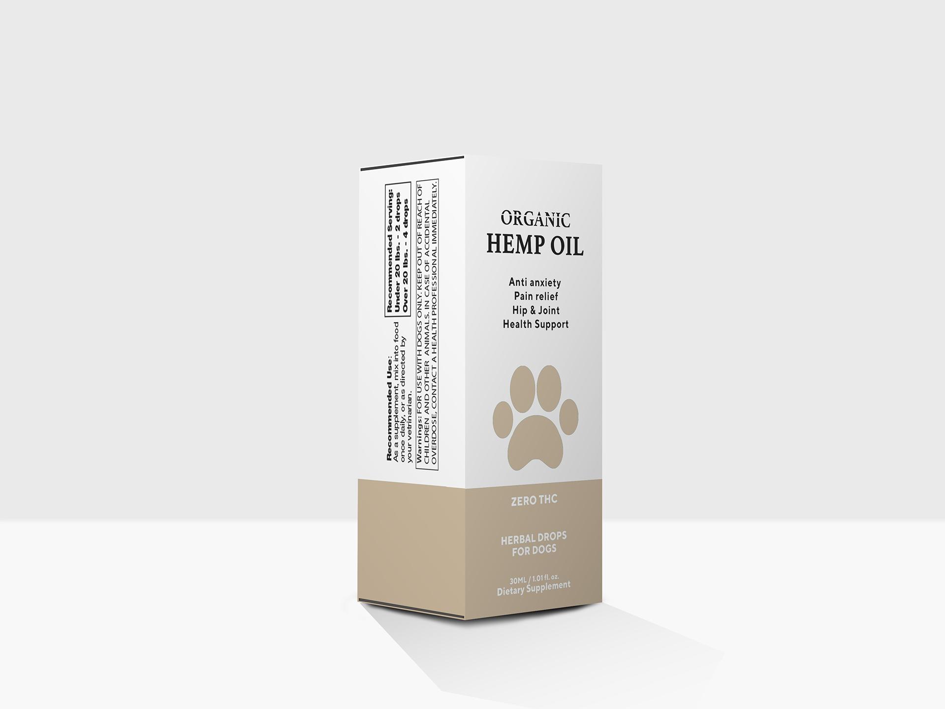 Hemp Oil design by Sen
