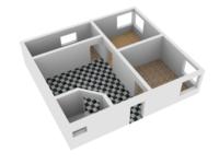 План дома, квартиры, комнаты в 3d