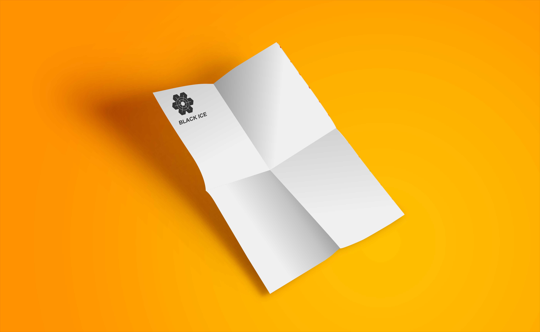 """Логотип + Фирменный стиль для компании """"BLACK ICE"""" фото f_234571256b03886e.jpg"""