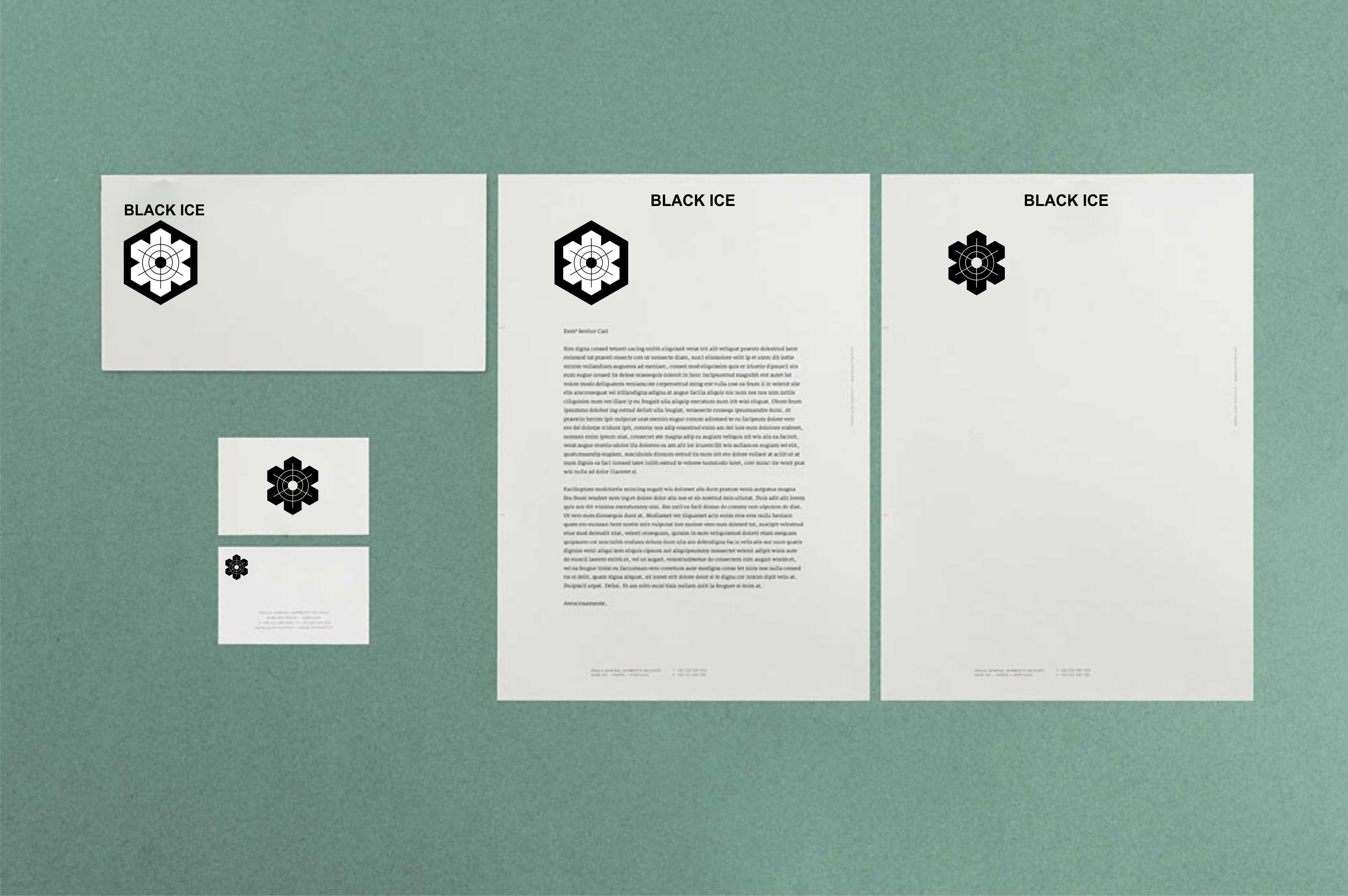 "Логотип + Фирменный стиль для компании ""BLACK ICE"" фото f_408571256ca2961e.jpg"