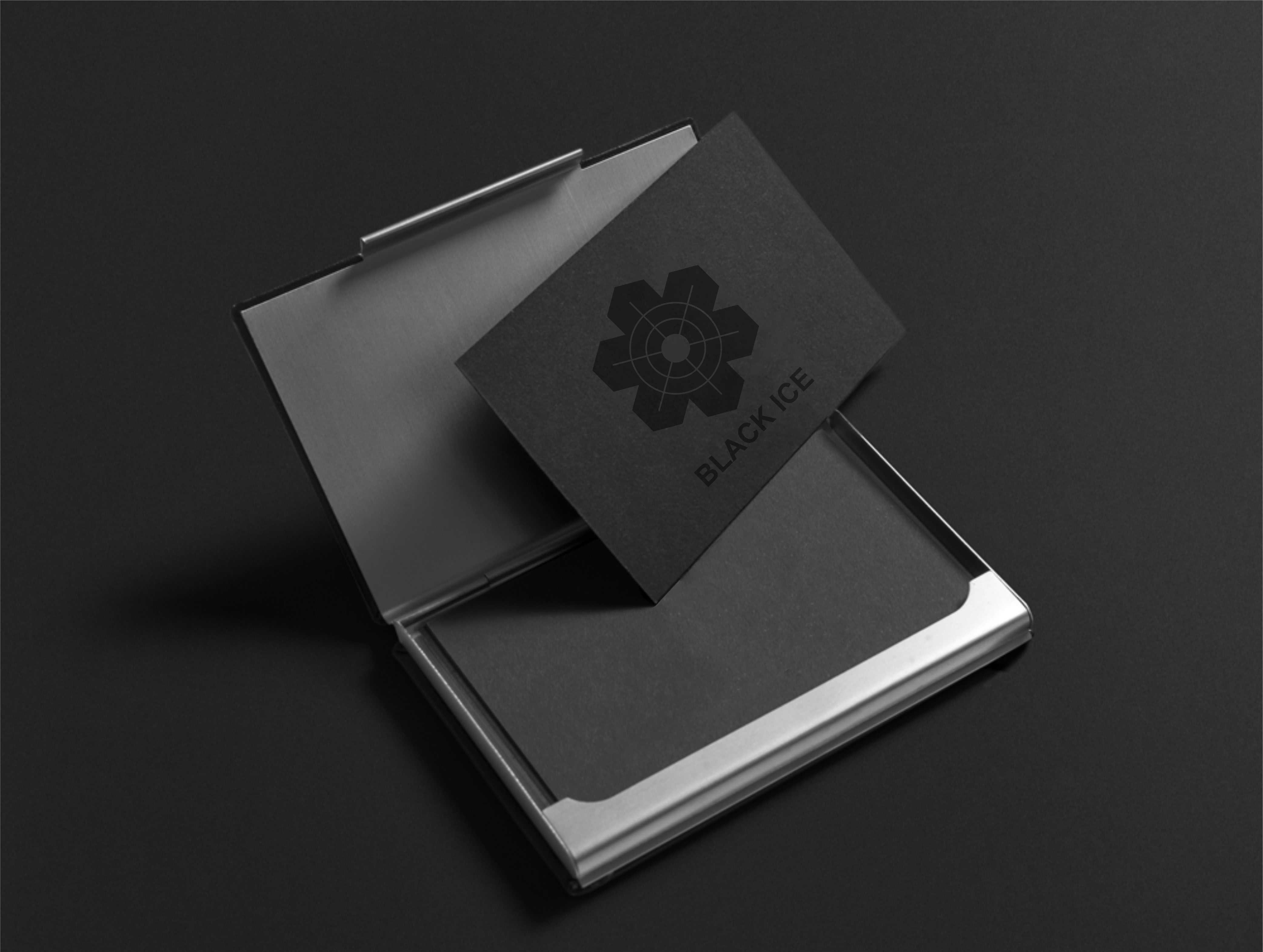 """Логотип + Фирменный стиль для компании """"BLACK ICE"""" фото f_4695712583f21761.jpg"""