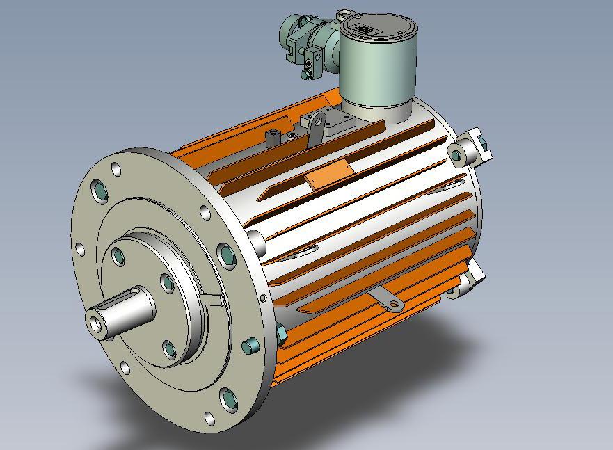 Электродвигатель в сборе 180 габарита