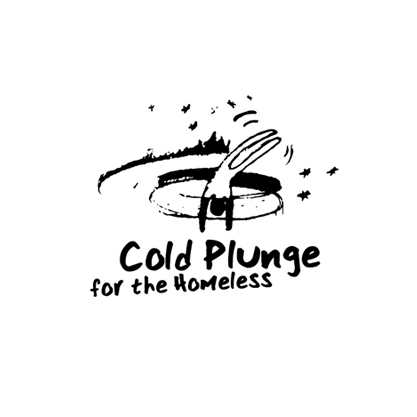 Logo Cold Plunge for Homeless
