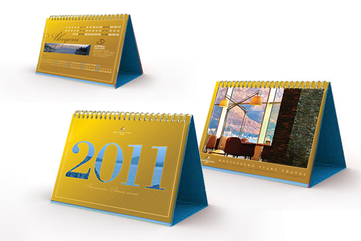 Calendar Montenegro Stars Travel