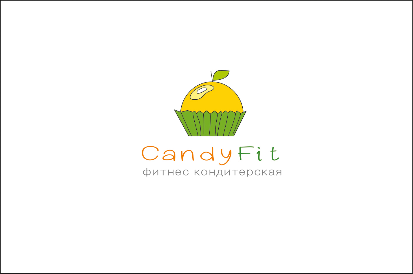 "Разработать логотип для ""CandyFit"" фото f_24251e1dc850bc62.jpg"