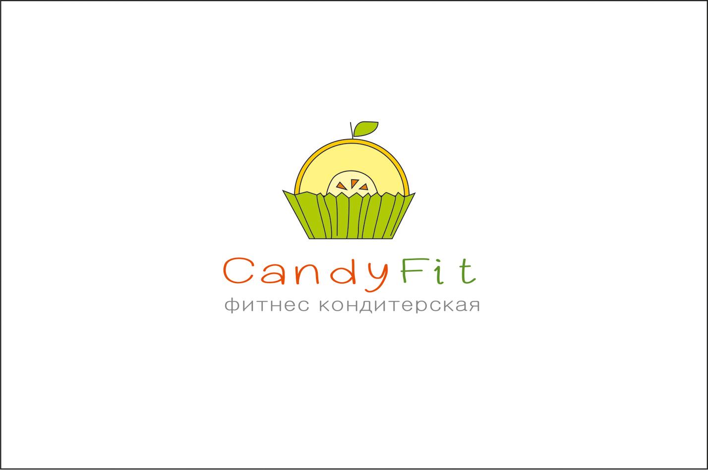 """Разработать логотип для """"CandyFit"""" фото f_55751e1dc15ef478.jpg"""
