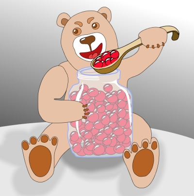 Все медведи любят ...