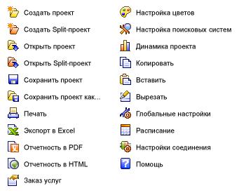 Иконки для программы Autoworks Ranker.
