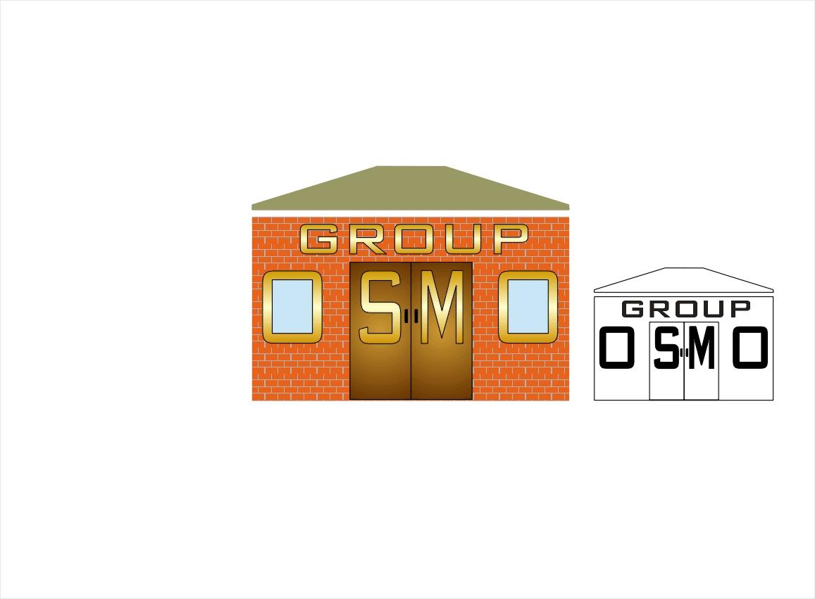 Создание логотипа для строительной компании OSMO group  фото f_00659b43f589cb31.jpg