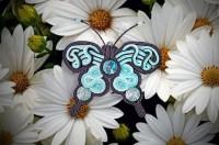 Анимация брошки бабочки. Реклама для соцсетей.