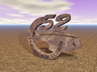 Рендеринг логотипа Cinema 4D.