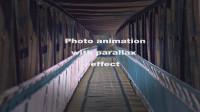 Анимация фото с эффектом параллакса.