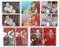 Реставрация старых фото,наложение цвета.