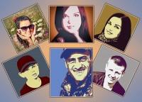 Портреты из фото. Различные стили.