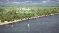 3D фото анимация