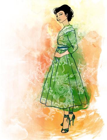 Создать платье онлайн.