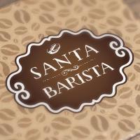 Branding & Books Cafe chain Santa Barista