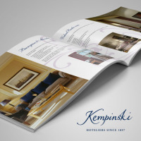 Брошюры тематические Hotel Kempinski (36 полос)