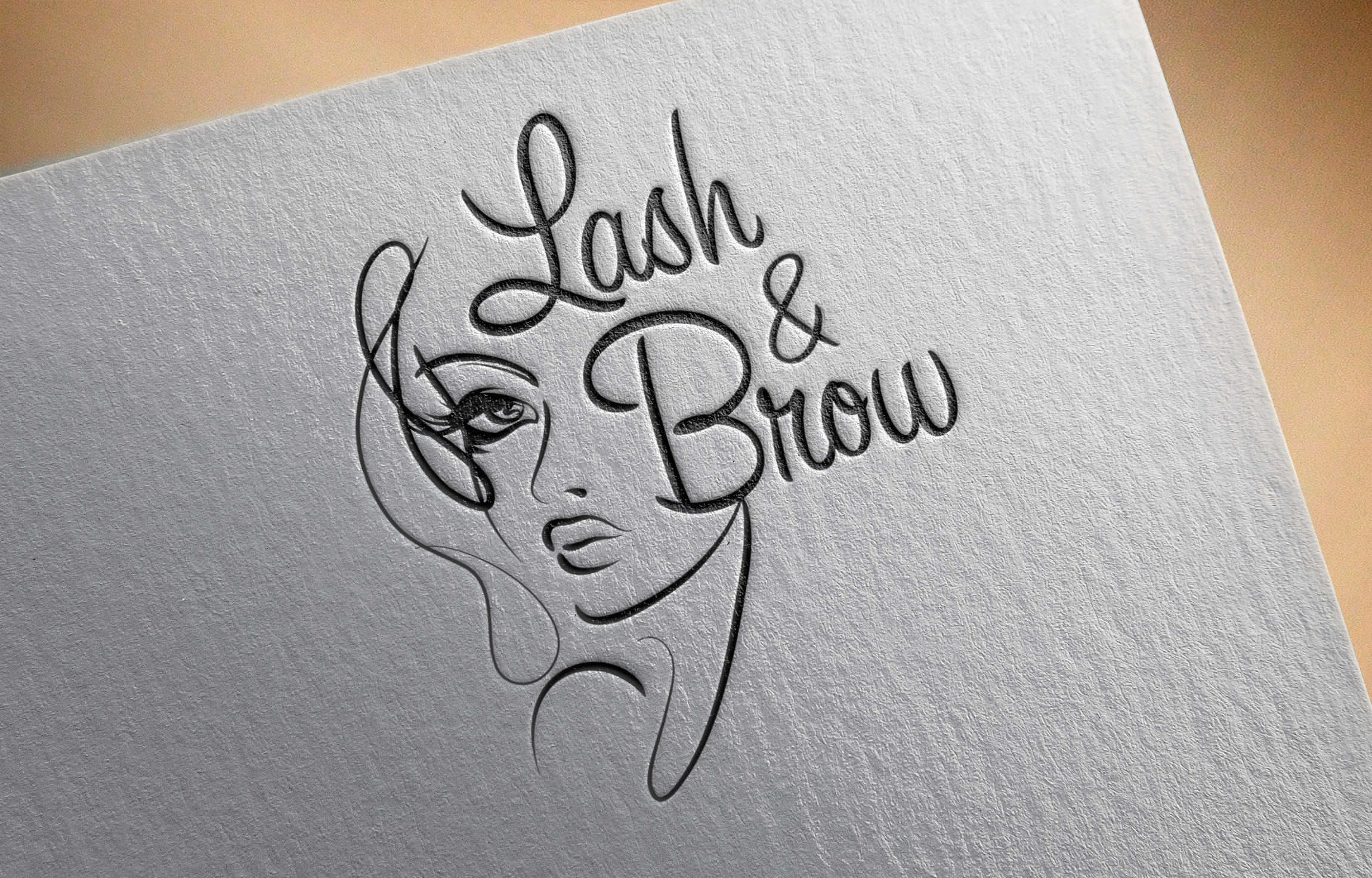 "Создание логотипа мероприятия ""Марафон Lash&Brow"" фото f_00758f89e5bdff99.jpg"