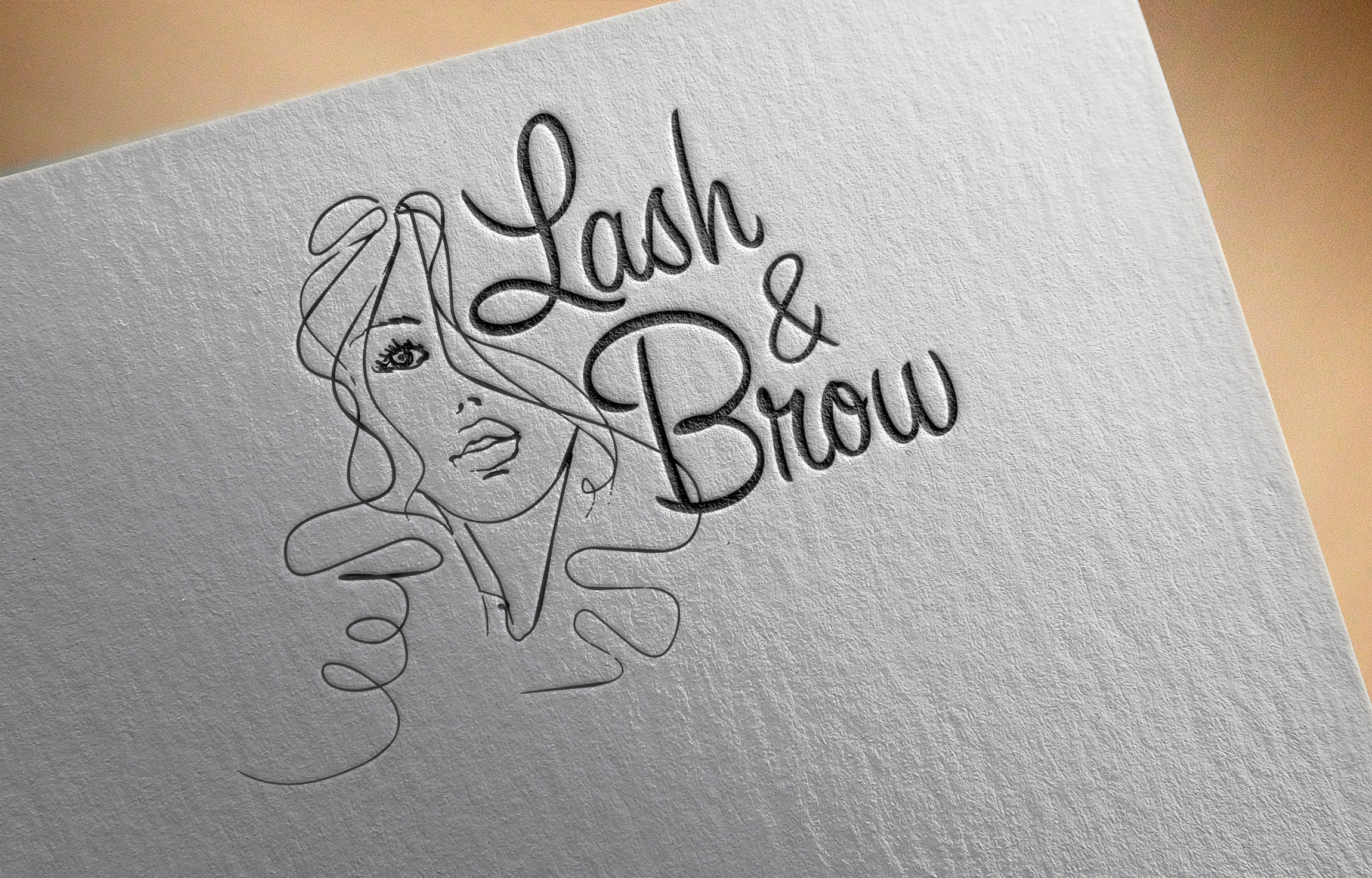 "Создание логотипа мероприятия ""Марафон Lash&Brow"" фото f_53458f8a684a3983.jpg"
