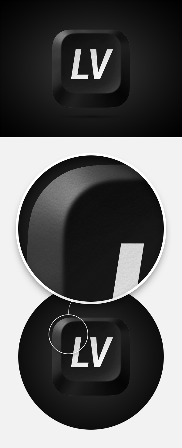 LV - iOS иконка