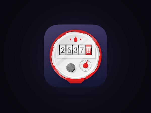 Счетчик - iOS иконка