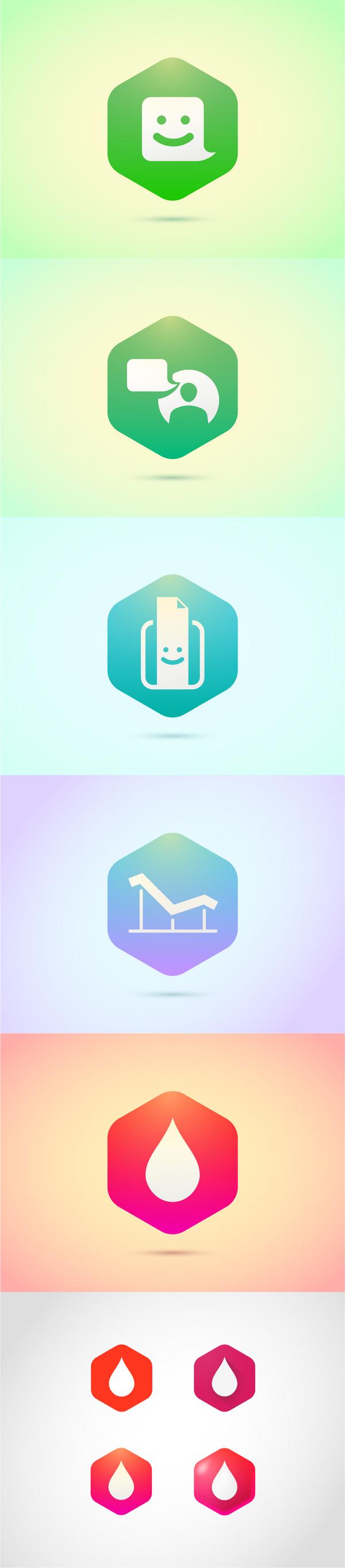 Иконки для медицинских приложений