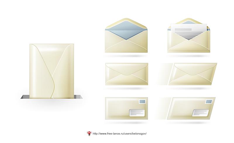 Письма и конвертики