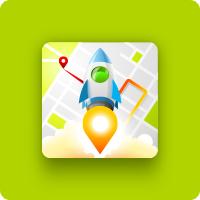 Ракета - Android иконка
