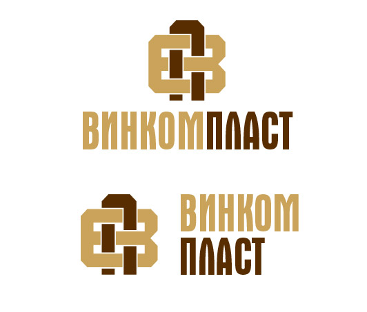 Логотип, фавикон и визитка для компании Винком Пласт  фото f_2495c3f2e2440d0f.jpg