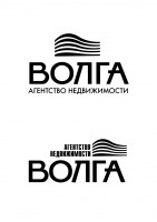 "Логотип Агентства недвижимости ""ВОЛГА"""