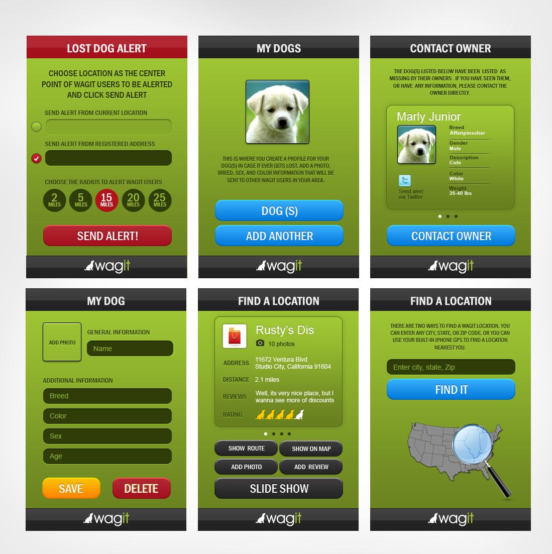 iPhone Design   Wagit App