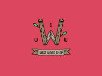 Лого для фирмы модных деревянных аксессуаров WestWood