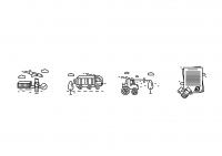Иконки для разделов сайта транспортной компании